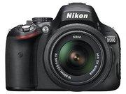 Цифровой зеркальный профессиональный фотоаппарат Nikon D5100 + 18-55